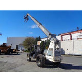TEREX TH844C 8000 LB DIESEL TELESCOPIC FORKLIFT TELEHANDLER PNEUMATIC 4WD 3899 HOURS STOCK # BF9759839-ESPA