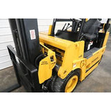 1997 DREXEL R60SL 6000 LB LP GAS FORKLIFT PNEUMATIC 98/198 3 STAGE MAST 388 HOURS STOCK # BF58085-DPA