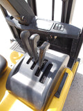 2005 YALE ERP040TH 4000 LB 82/189 3 STAGE MAST ELECTRIC FORKLIFT PNEUMATIC SIDE SHIFTER 457 HOURS STOCK # BF924387-RIL