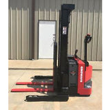 2011 RAYMOND RSS40 4000 LB ELECTRIC FORKLIFT WALKIE STACKER CUSHION SIDE SHIFTER 2427 HOURS STOCK # 7352-104194-ARB