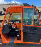 2013 JLG G12-55A 12000 LB DIESEL TELESCOPIC FORKLIFT TELEHANDLER PNEUMATIC 4WD ENCLOSED HEATED CAB 3716 HOURS STOCK # BF9721639-NLEQ