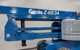 2011 GENIE Z60/34 ARTICULATING BOOM LIFT AERIAL LIFT WITH JIB ARM 60' REACH DIESEL STOCK # BF9323999-ILIL