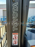 "2015 TOYOTA 8BRU18 3500 LB 36 VOLT ELECTRIC DOCK STOCKER FORKLIFT 89/192"" 3 STAGE MAST SIDE SHIFTER STOCK # BF9585099-RIL - United Lift Used & New Forklift Telehandler Scissor Lift Boomlift"
