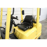 2001 HYSTER S50XM 5000 LB LP GAS FORKLIFT CUSHION 83/189 3 STAGE MAST 5925 HOURS STOCK # BF73021-DPA