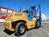 "2009 OMEGA LIFT HERC-2430 30000 LB 4WD DIESEL ROUGH TERRAIN FORKLIFT PNEUMATIC 148/168"" 2 STAGE MAST ENCLOSED CAB 373 HOURS STOCK # BF9729309-ESPA"