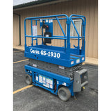 2000 GENIE GS1930 SCISSOR LIFT 19' REACH ELECTRIC ONLY 708 HOURS STOCK # BF32105-ARB - united-lift-equipment