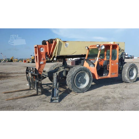 2011 JLG G12-55A 12000 LB DIESEL TELESCOPIC FORKLIFT TELEHANDLER PNEUMATIC 4WD 4309 HOURS STOCK # BF69501-ESPA