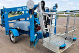 2015 GENIE TZ50 TOWABLE BOOM LIFT AERIAL LIFT 50' REACH HYBRID DUAL FUEL 22 HOURS  STOCK # BF9287539-NLEQ - United Lift Used & New Forklift Telehandler Scissor Lift Boomlift