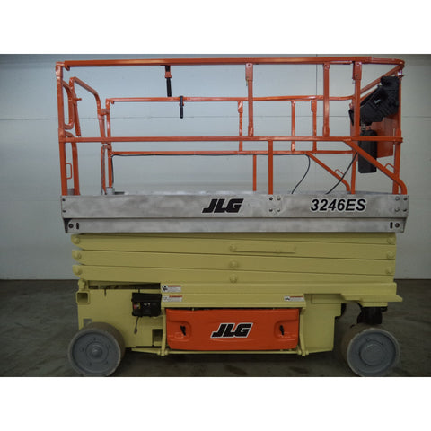 2006 JLG 3246ES SCISSOR LIFT 32' REACH ELECTRIC SMOOTH CUSHION TIRES STOCK # BF985059-129-LSC - Buffalo Forklift LLC