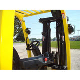 2009 HYSTER E60XN-33 6000 LB EE RATED 36 VOLT ELECTRIC FORKLIFT CUSHION 88/188 3 STAGE MAST SIDE SHIFTER UNDER 2900 HOURS STOCK # BF9157519-249-IN - Buffalo Forklift LLC