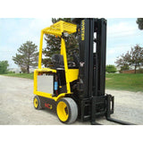 2007 HYSTER E60Z-33 6000 LB 48 VOLT ELECTRIC FORKLIFT CUSHION QUAD MAST SIDE SHIFTER STOCK # BF9105129-169-IN - Buffalo Forklift LLC
