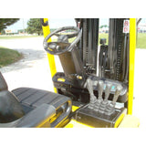 2008 HYSTER E55Z-33 5500 LB 48 VOLT ELECTRIC FORKLIFT CUSHION 87/252 QUAD MAST SIDE SHIFTER UNDER 2000 HOURS STOCK # BF9105059-179-IN - united-lift-equipment
