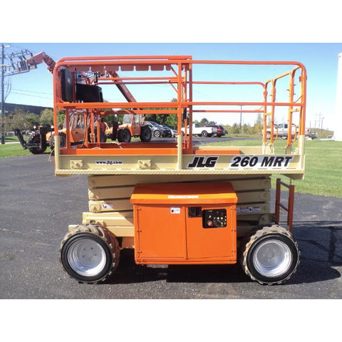 2008 JLG 260MRT SCISSOR LIFT 26' REACH 2156 HOURS DIESEL ROUGH TERRAIN 4WD STOCK # BF9148519-299-WI - Buffalo Forklift LLC
