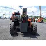2007 JLG G6-42A 6000 LB DIESEL TELESCOPIC FORKLIFT TELEHANDLER PNEUMATIC 4WD ENCLOSED HEATED CAB STOCK # BF9387009-469-WI - Buffalo Forklift LLC