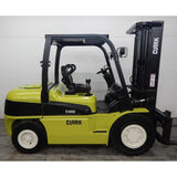 "2013 CLARK C45D 9000 LB CAPACITY DIESEL FORKLIFT PNEUMATIC 95/158"" 2 STAGE MAST STOCK # BF9208299-299-LSC **OWN FOR ONLY $576 PER MONTH **"
