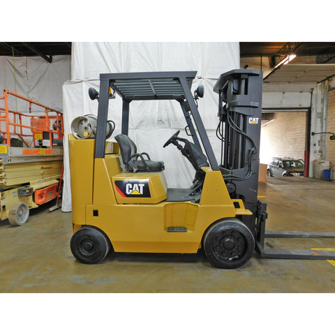 2006 CATERPILLAR GC40K 8000 LB LP GAS FORKLIFT CUSHION 3 STAGE MAST SIDE SHIFTER STOCK # BF9120479-189-CIL - Buffalo Forklift LLC