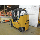 2006 CATERPILLAR GC40K 8000 LB LP GAS FORKLIFT CUSHION 85/183 3 STAGE MAST SIDE SHIFTER 2677 HOURS STOCK # BF9120479-189-BUF