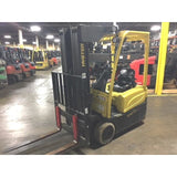 2011 HYSTER J30XNT 3000 LB 36 VOLT ELECTRIC FORKLIFT CUSHION 83/240 QUAD MAST STOCK # BF1700-1706-MYRALT ** ONLY $364.00 PER MONTH **