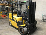 2013 YALE GLC120VX 12000 LB LP GAS FORKLIFT CUSHION 84/163 3 STAGE MAST STOCK # BF921949-PEMD