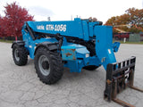 2015 GENIE GTH-1056 10000 LBS DIESEL ROUGH TERRAIN PNEUMATIC TIRES TELEHANDLER FORK LIFT 648 HOURS STK# BF9G1001-RIL - United Lift Used & New Forklift Telehandler Scissor Lift Boomlift