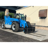 2014 GENIE GTH1544 15000 LB DIESEL TELESCOPIC FORKLIFT TELEHANDLER PNEUMATIC 4WD ENCLOSED CAB 2597 HOURS STOCK # BF91052139-125-NLE