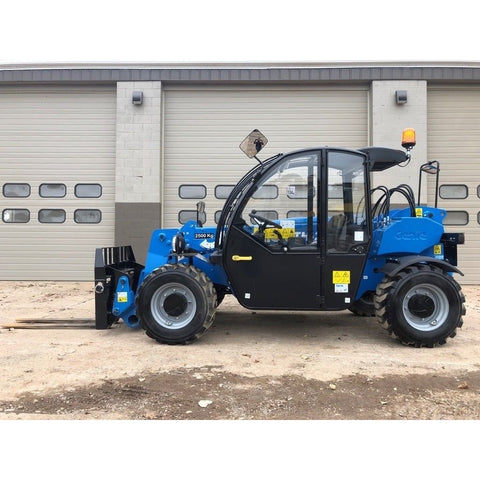 2018 GENIE GTH2506 5500 LB DIESEL TELESCOPIC FORKLIFT TELEHANDLER PNEUMATIC 4WD ENCLOSED CAB STOCK # BF243808-WVB - United Lift Used & New Forklift Telehandler Scissor Lift Boomlift