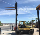 "2011 HYSTER H190FT 19000 LB DIESEL FORKLIFT PNEUMATIC 160/219"" 2 STAGE MAST SIDE SHIFTER ENCLOSED CAB 7937 HOURS STOCK # BF9301139-VENV - United Lift Used & New Forklift Telehandler Scissor Lift Boomlift"