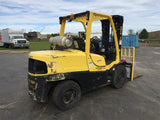 2012 HYSTER H120FT 12000 LB LP GAS FORKLIFT PNEUMATIC 96/185 3 STAGE MAST SIDE SHIFTER 1475 HOURS STOCK # BF990809-489-FEWI