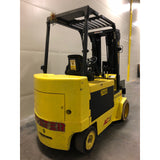 2010 HYSTER E100ZS 10000 LB ELECTRIC CUSHION 92/185 3 STAGE MAST 2742 HOURS STOCK # BF2624H-BUF