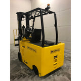 2009 DREXEL SL40E-90D 4000 LB 48 VOLT ELECTRIC FORKLIFT CUSHION 97/216 3 STAGE MAST STOCK # BF9199989-349-BUF