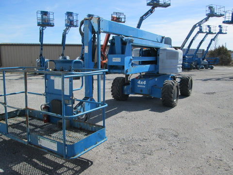 2006 GENIE Z60/34 ARTICULATING BOOM LIFT AERIAL LIFT 60' REACH DIESEL 2874 HOURS STOCK # BF9244539-349-WITNB - united-lift-equipment