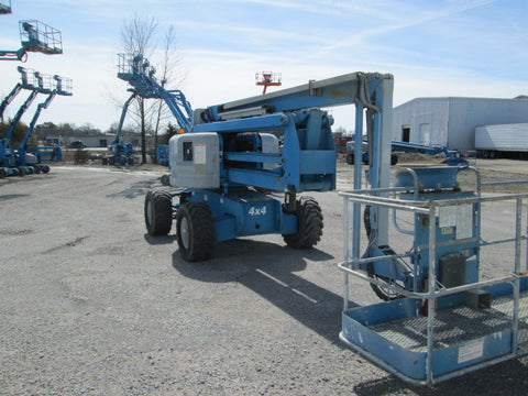 2007 GENIE Z60/34 ARTICULATING BOOM LIFT AERIAL LIFT 60' REACH DIESEL 2624 HOURS STOCK # BF9256589-349-WITNB - united-lift-equipment