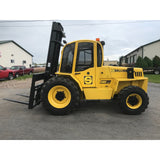 2007 SELLICK S80-4 8000 LB 4x4 DIESEL ROUGH TERRAIN FORKLIFT PNEUMATIC 2 STAGE MAST 2924 HOURS STOCK # BF9292689-449-BUF