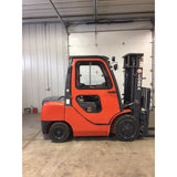 2014 COBRA CBR-FD35 8000 LB DIESEL FORKLIFT PNEUMATIC 87/189 3 STAGE MAST ENCLOSED HEATED CAB 1626 HOURS STOCK # BF9188639-329-BUF - Buffalo Forklift LLC