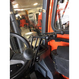 2014 COBRA CBR-FD35 8000 LB DIESEL FORKLIFT PNEUMATIC 87/189 3 STAGE MAST ENCLOSED HEATED CAB 1626 HOURS STOCK # BF9188639-329-BUF