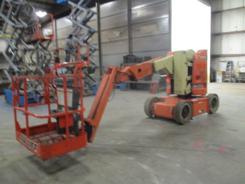 2007 JLG E300AJP ARTICULATING BOOM LIFT AERIAL LIFT 30' REACH ELECTRIC 1060 HOURS STOCK # BF9168539-299-WIB - United Lift Used & New Forklift Telehandler Scissor Lift Boomlift