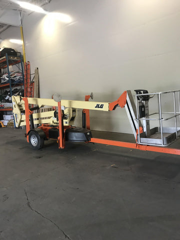2013 JLG T500J TOWABLE BOOM LIFT AERIAL LIFT 50' REACH ONLY 87 HOURS STOCK # BF9249659-BUF