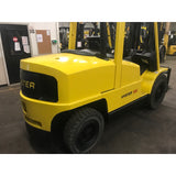 "2005 HYSTER H100XM 10000 LB LP GAS FORKLIFT PNEUMATIC 96/185"" 3 STAGE MAST SIDE SHIFTER STOCK # BF9159789-249-OHL"