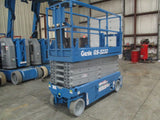 2008 GENIE GS3232 SCISSOR LIFT 32' REACH ELECTRIC SMOOTH CUSHION TIRES 308 HOURS STOCK # BF9104529-169-WIB - united-lift-equipment