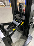 "2019 HANGCHA CDD14 3000 LB ELECTRIC BRAND NEW FORKLIFT WALKIE REACH STACKER CUSHION 2 STAGE 83/157"" MAST STOCK # BF9127159-199-BUF - united-lift-equipment"