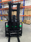 2019 HANGCHA CYD25-AC 5000 LB LITHIUM ION BATTERY 10 HOUR RUN TIME FORKLIFT ELECTRIC PNEUMATIC 88/185 3 STAGE MAST SIDE SHIFTER FORK POSITIONER STOCK # BF9502359-599-BUF - united-lift-equipment