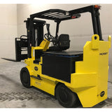 "HOIST FKE7.5S 15,000 LB ELECTRIC FORKLIFT 95/101"" 2 STAGE MAST SIDE SHIFTING FORK POSITIONER 2314 HOURS STOCK # BF2408-BUF ** ONLY $737.00 PER MONTH **"