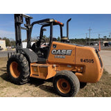 2014 CASE 588G 8000 LB 2WD DIESEL ROUGH TERRAIN FORKLIFT PNEUMATIC 2 STAGE MAST 1040 HOURS STOCK # BF949509-589-CEXT