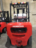 2019 HANGCHA CPYD40 8000 LB FORKLIFT LP PNEUMATIC 89/189 3 STAGE MAST SIDE SHIFTER STOCK # BF9366789-BUF - united-lift-equipment