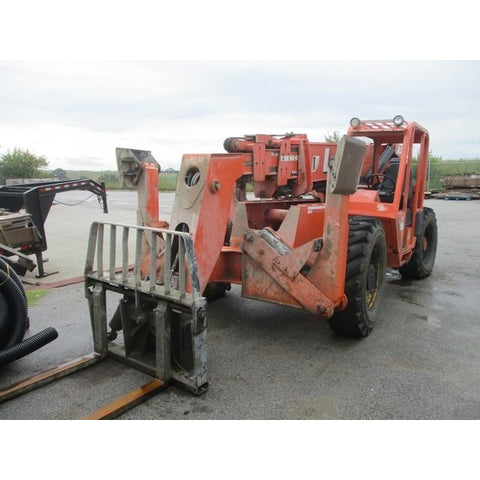2008 LULL 1044C-54 10000 LB DIESEL TELESCOPIC FORKLIFT TELEHANDLER PNEUMATIC 4WD ONLY 2833 HOURS STOCK # BF9449869-MYRBUF