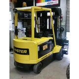 "2003 HYSTER N30XMH2 3000 LB 48 VOLT ELECTRIC TURRET SWING MAST FORKLIFT CUSHION 104/228"" 3 STAGE MAST STOCK # BF9128769-MYR - Buffalo Forklift LLC"