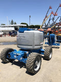 2011 GENIE Z60/34 BOOM MAN AERIAL SCISSOR LIFT 60 FOOT REACH DIESEL 4X4 2900 HOURS STOCK # BF9429239-LMTX - United Lift Used & New Forklift Telehandler Scissor Lift Boomlift