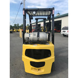 2006 YALE GLP040 4000 LB LP GAS FORKLIFT PNEUMATIC 84/130 2 STAGE MAST - 3 WAY VALVE 1006 HOURS STOCK # BF971509-129-BUF
