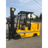 "2000 GREGORY DSD-EX80 8000 LB 36 VOLT ELECTRIC FORKLIFT CUSHION 95/142"" 2 STAGE MAST EXPLOSION PROOF ONLY 459 HOURS STOCK # BF9232029-399-BUF - Buffalo Forklift LLC"