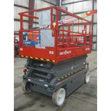 2005 SKYJACK SJ4626 SCISSOR LIFT 26' REACH 515 HOURS ELECTRIC SMOOTH CUSHION TIRES STOCK # BF979549-119-WI-INS1875 - Buffalo Forklift LLC